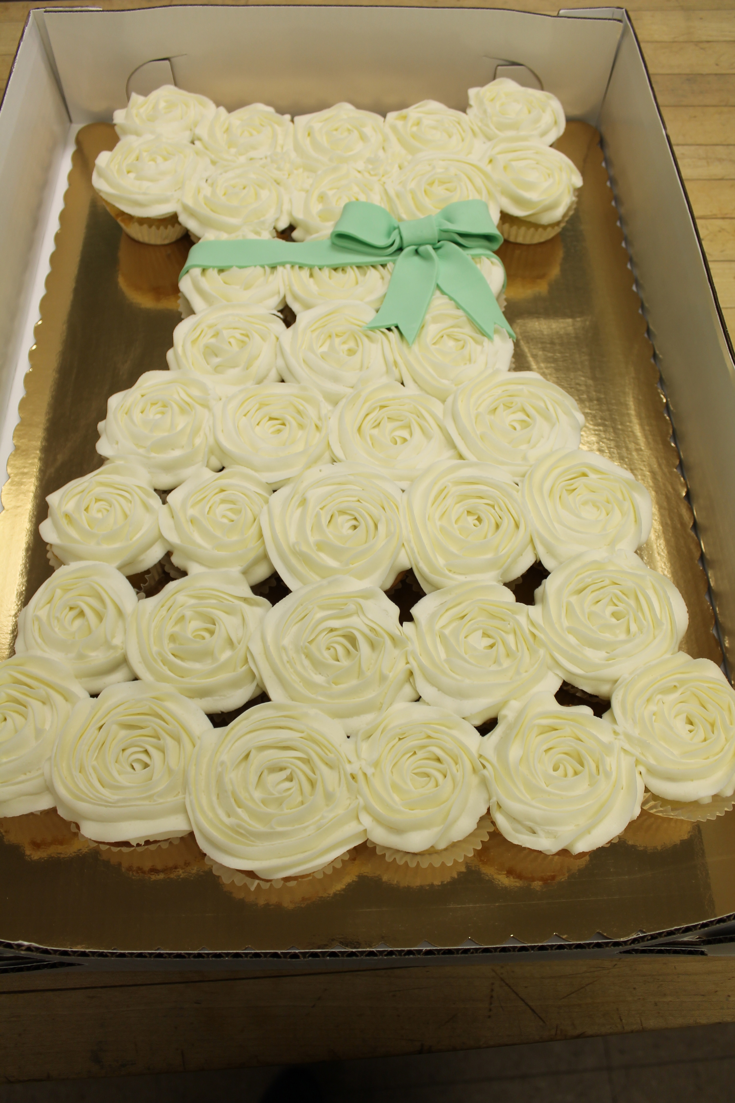 Cupcake Bridal Gown