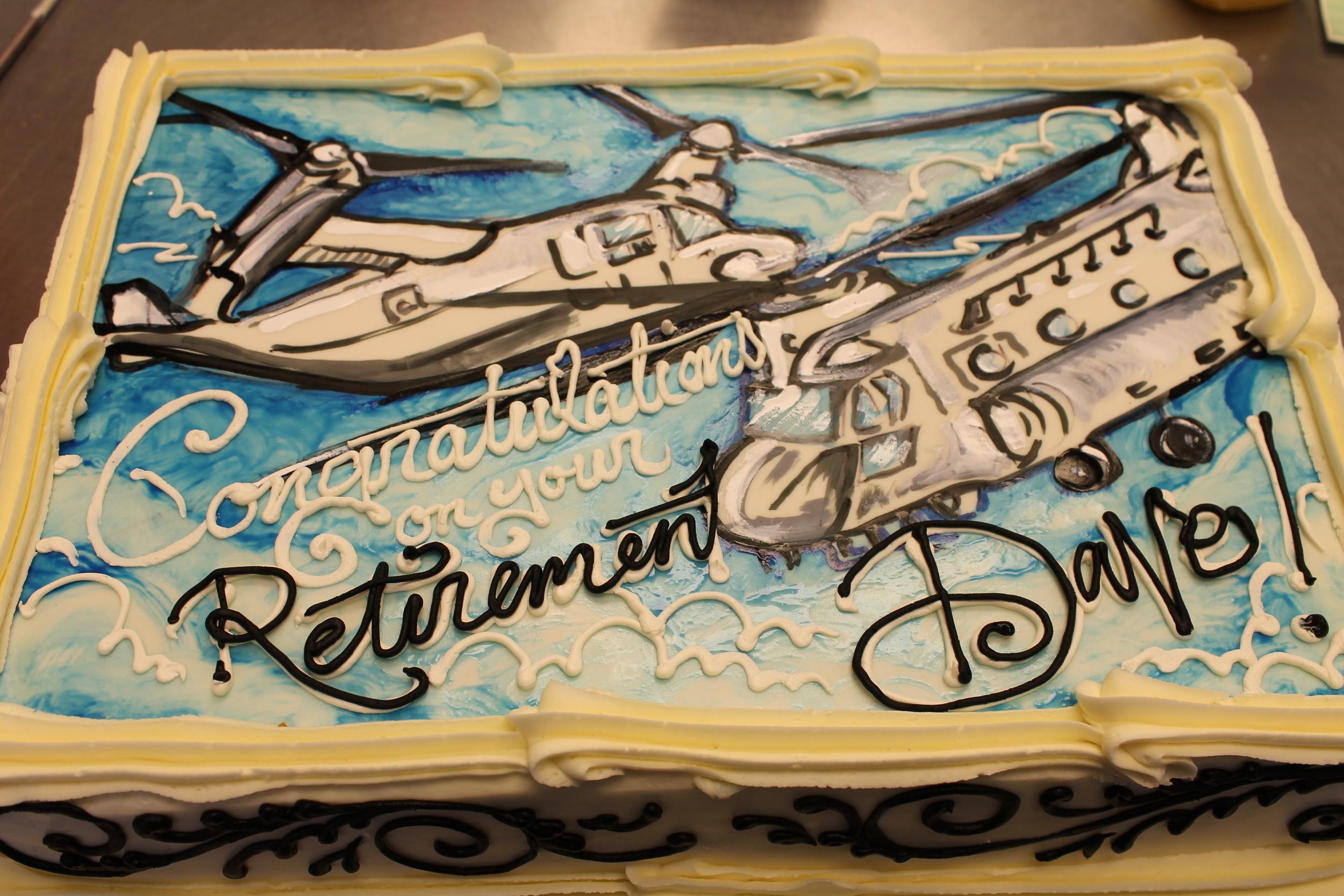 Boeing Retirement - Congratulations Dave !