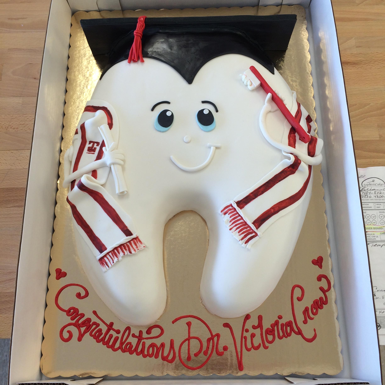 Dental School Grad Cake