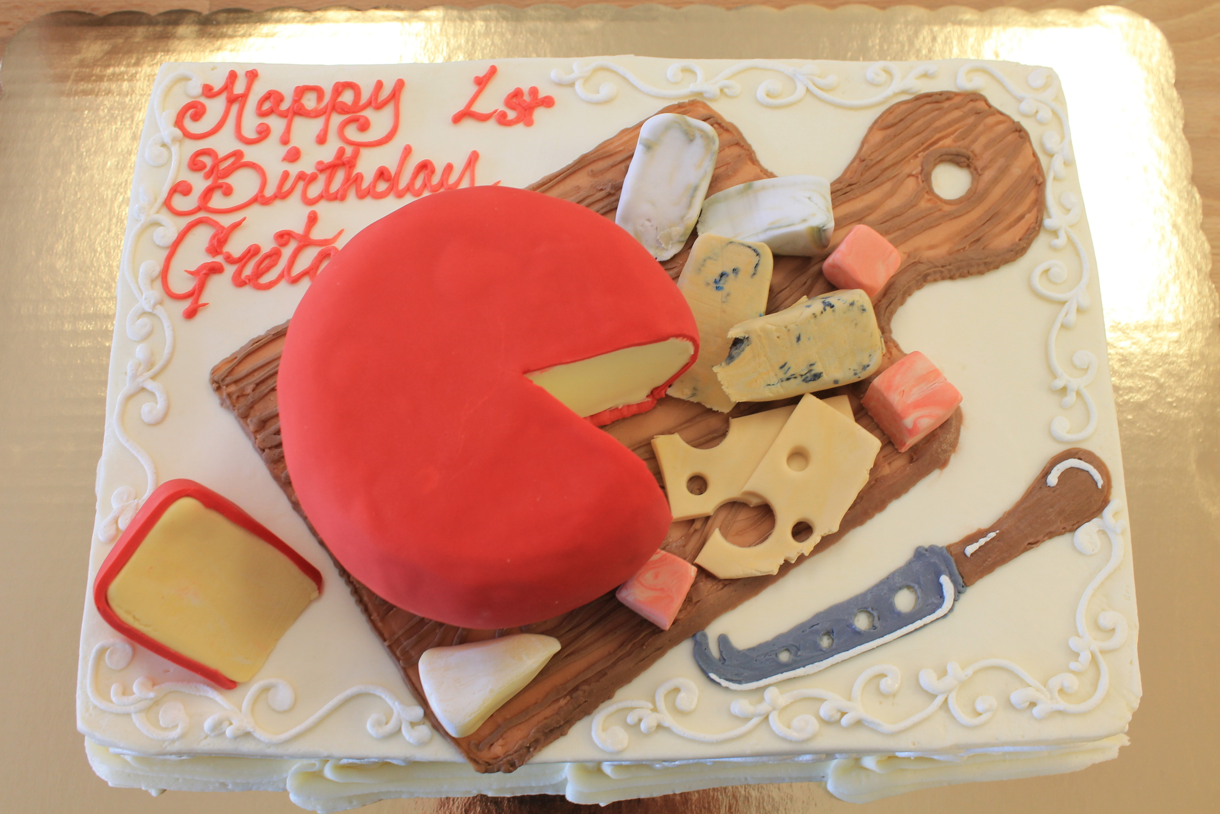 Loves Cheese Birthday Cake