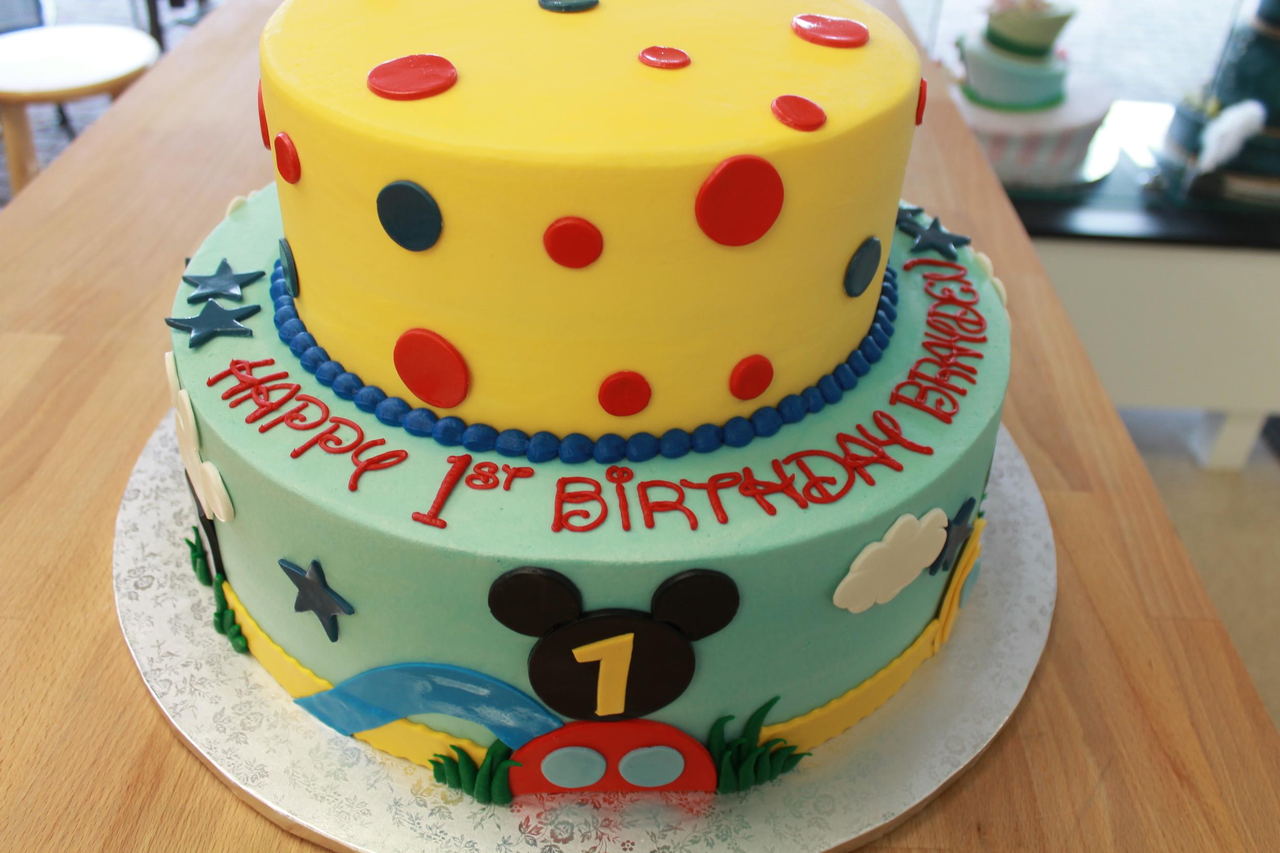 Playhouse Birthday Cake