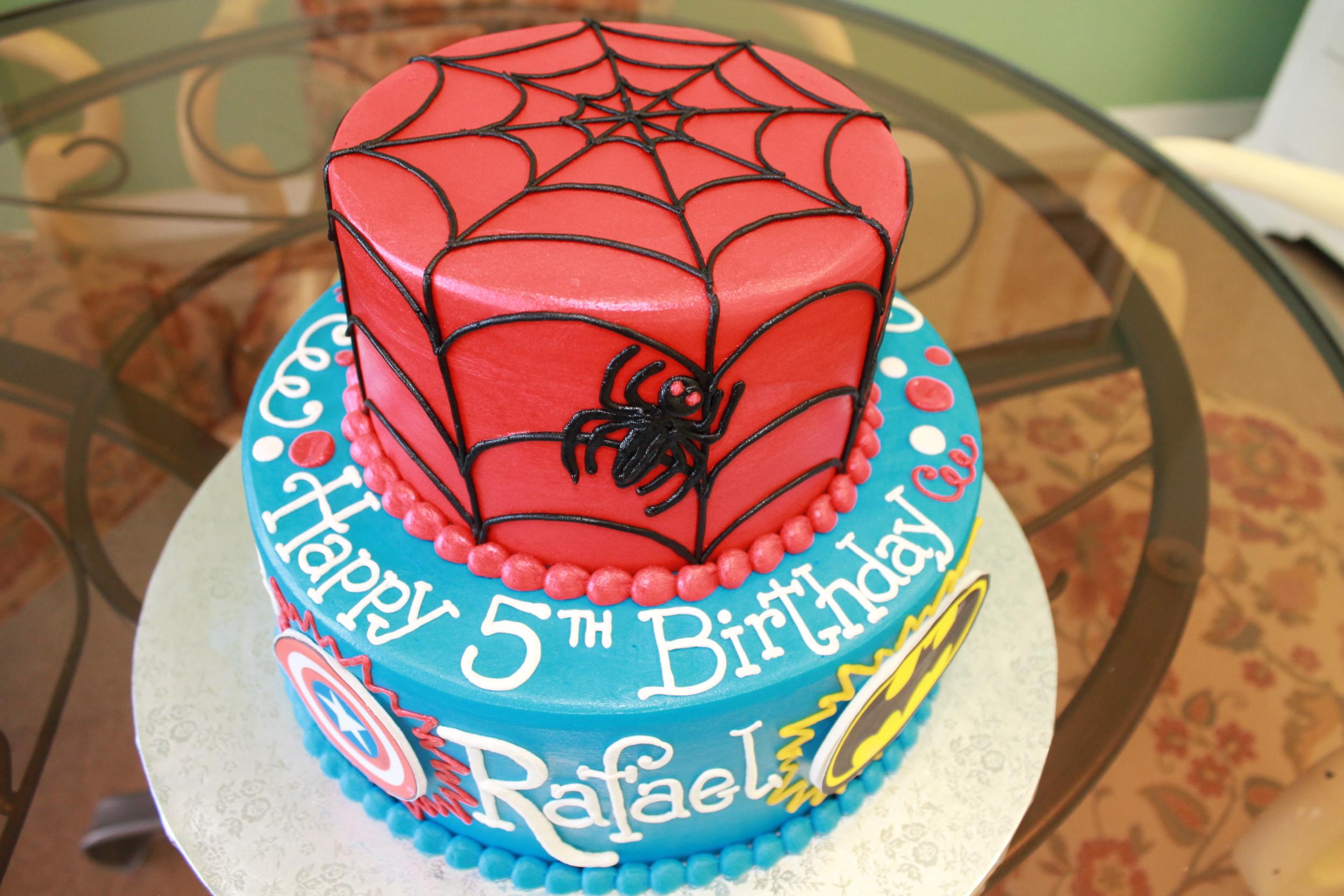 Avenger Heros Cake