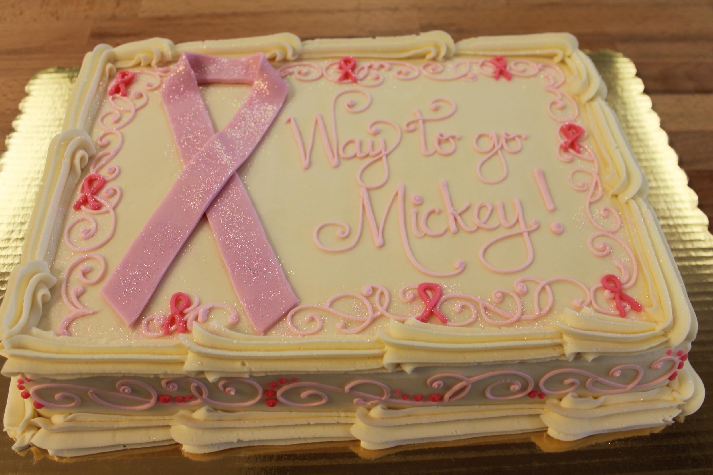 Surviver Birthday Cake
