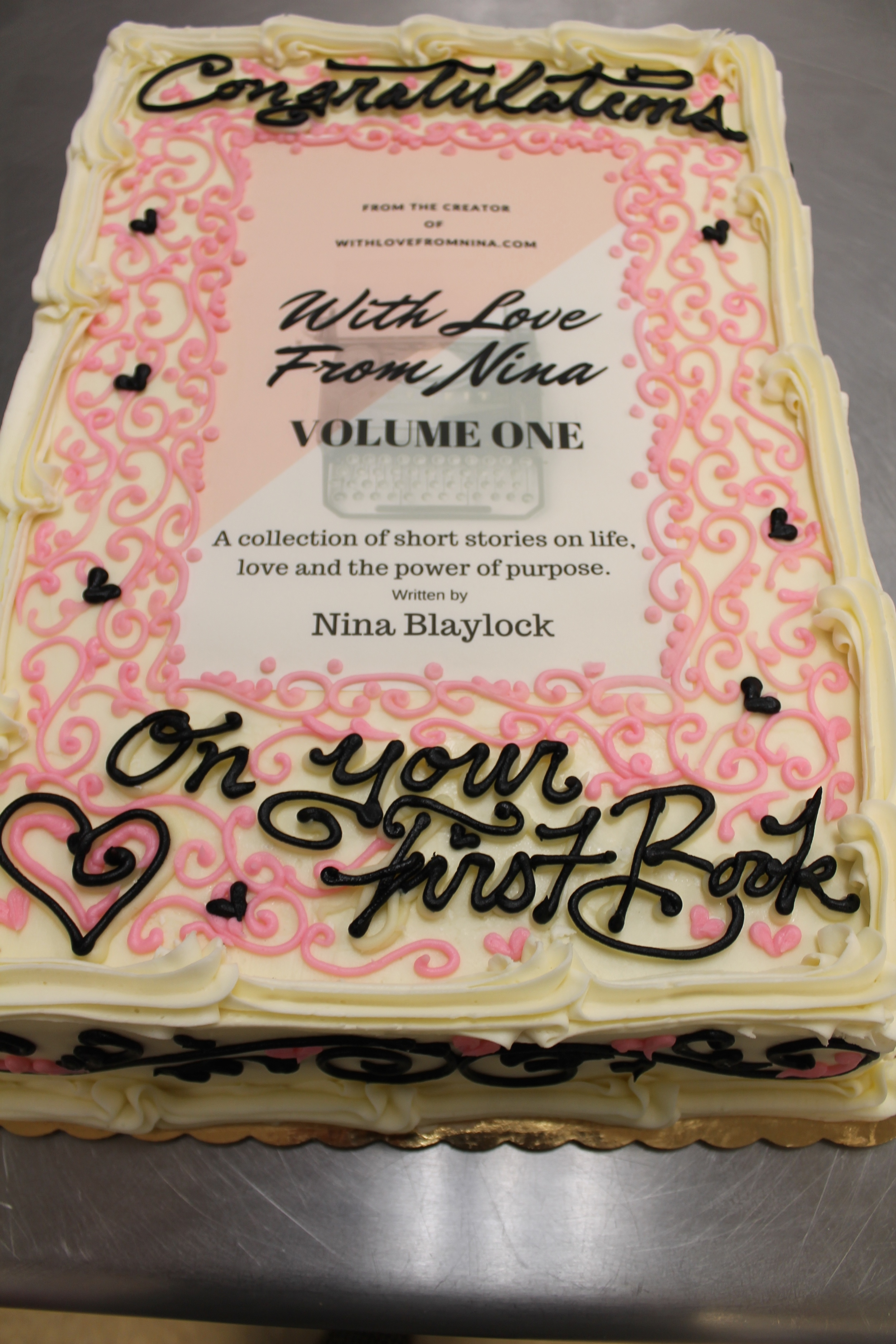 First Book Celebration