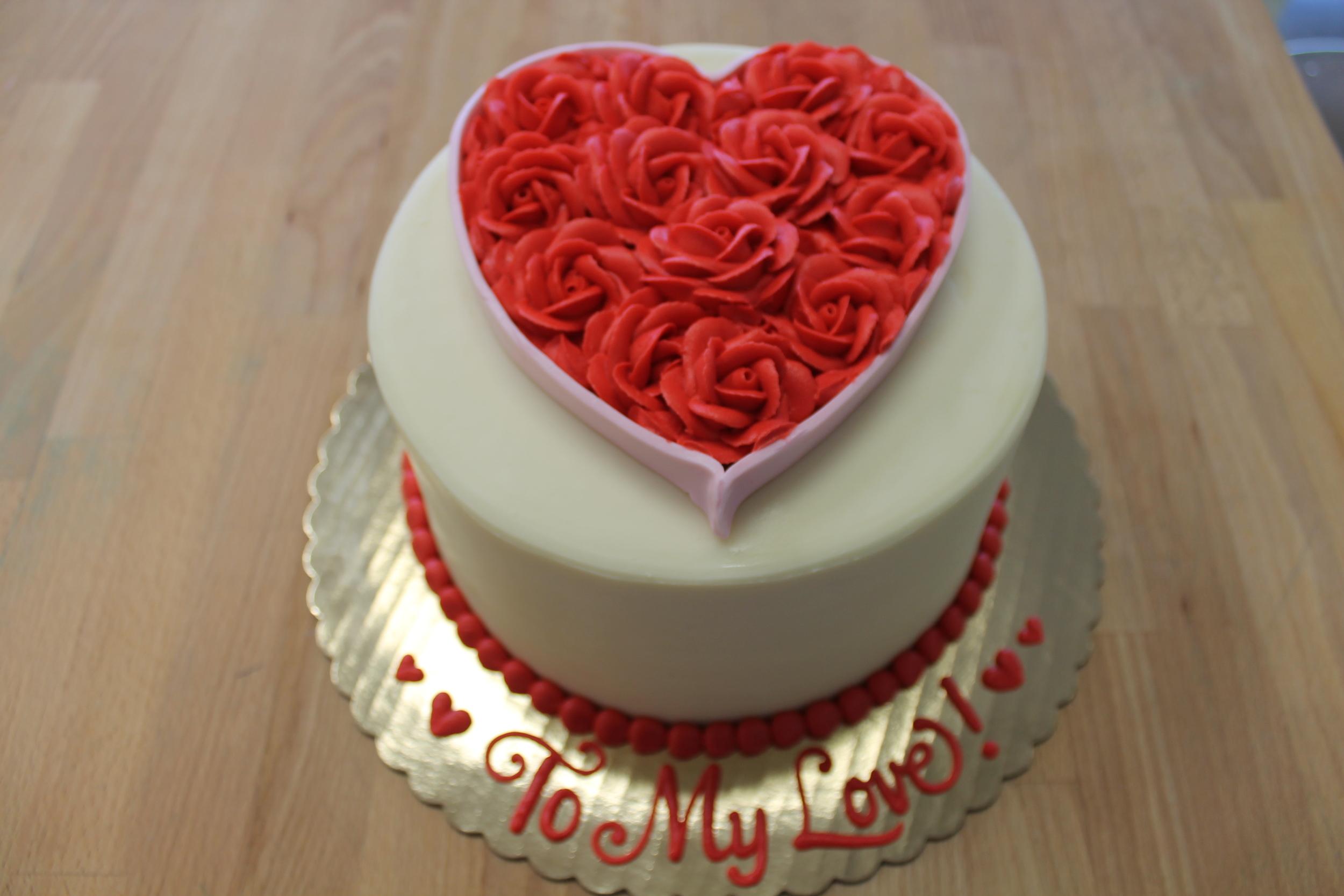 Valentine Butter Cream Hearts