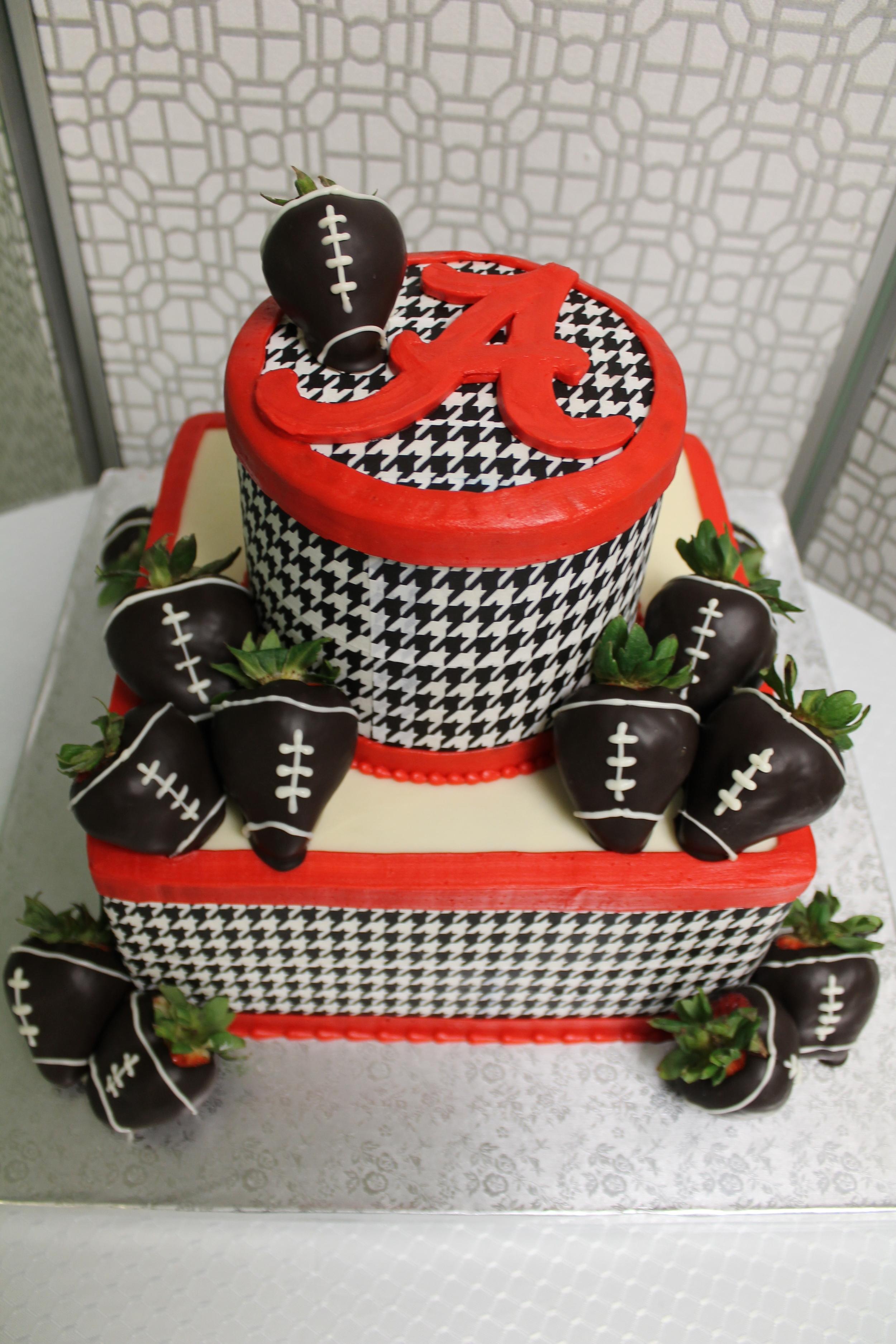 College Football Groom's Cake