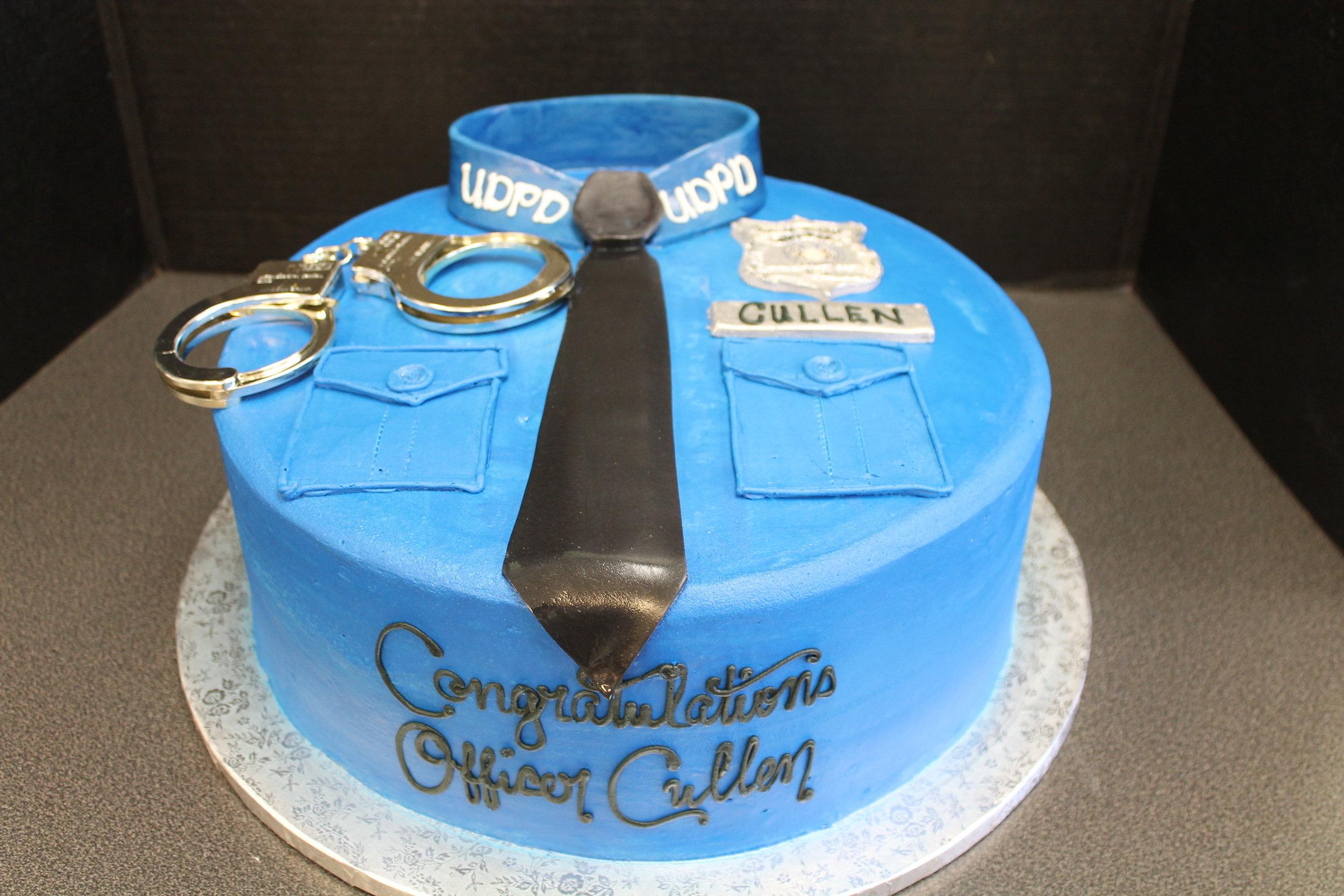 Congratulations Officer Cullen