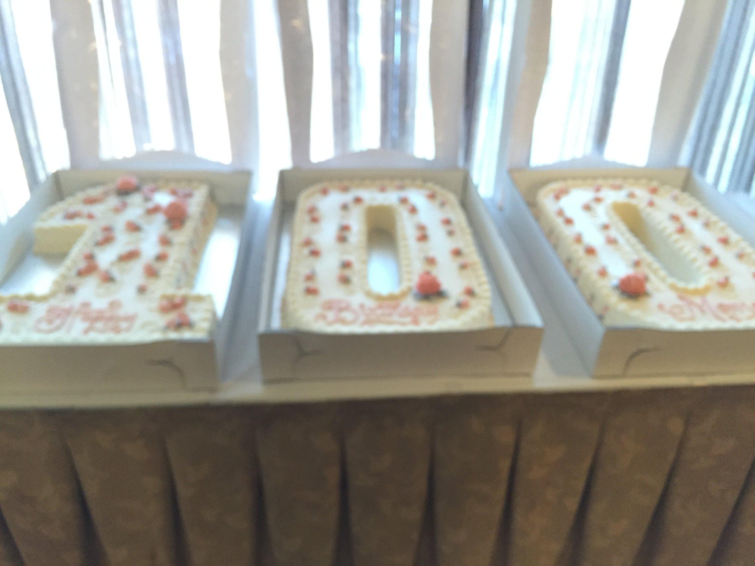 100 Birthday Celebration Cake