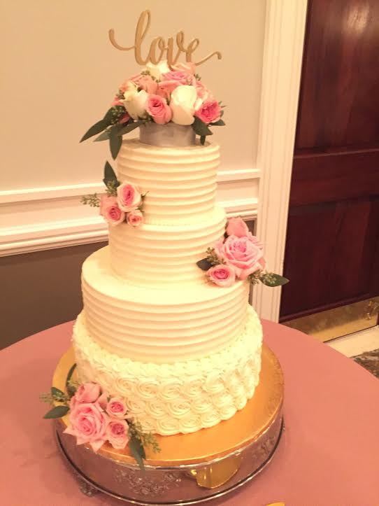 4 Tiers for the Happy Couple
