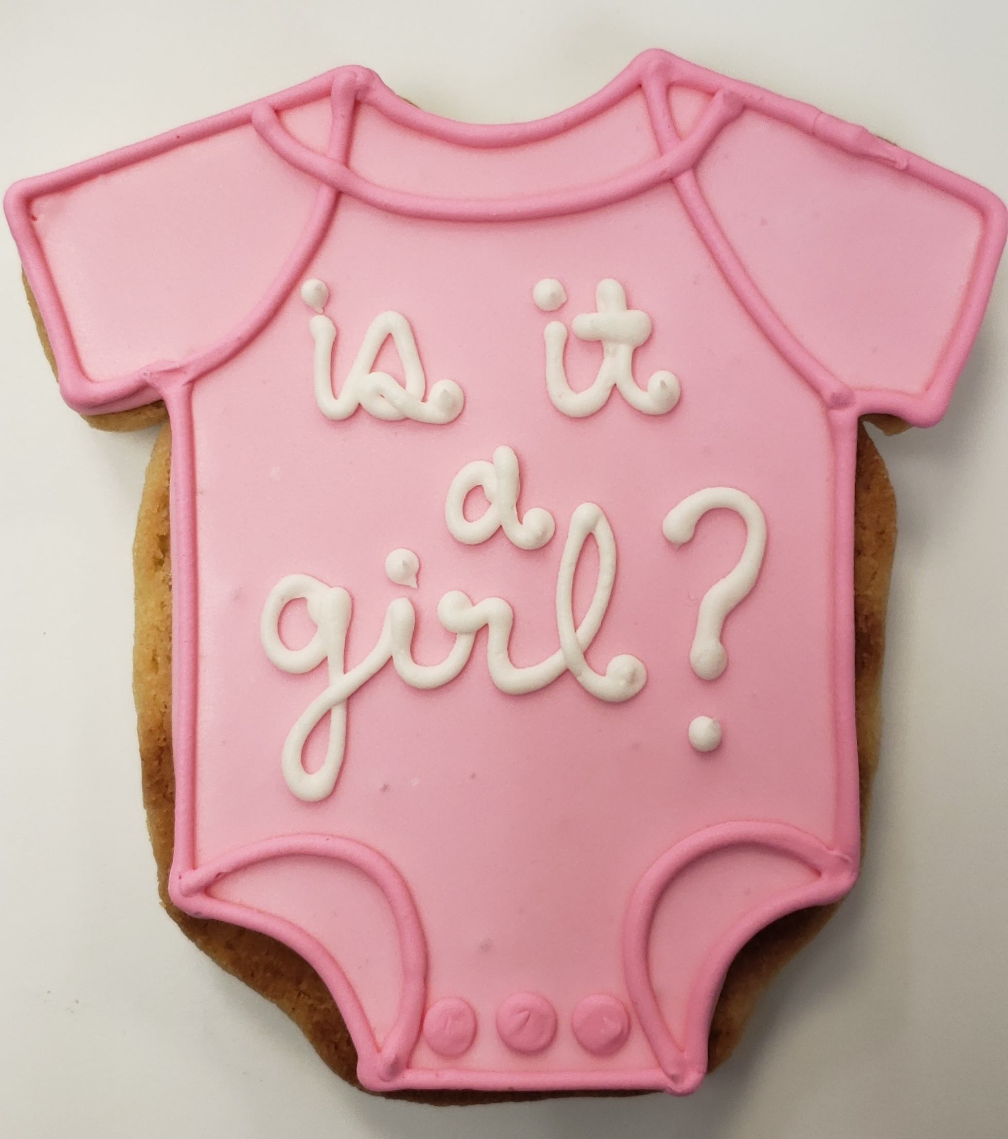 Is It A Girl ? Cookie