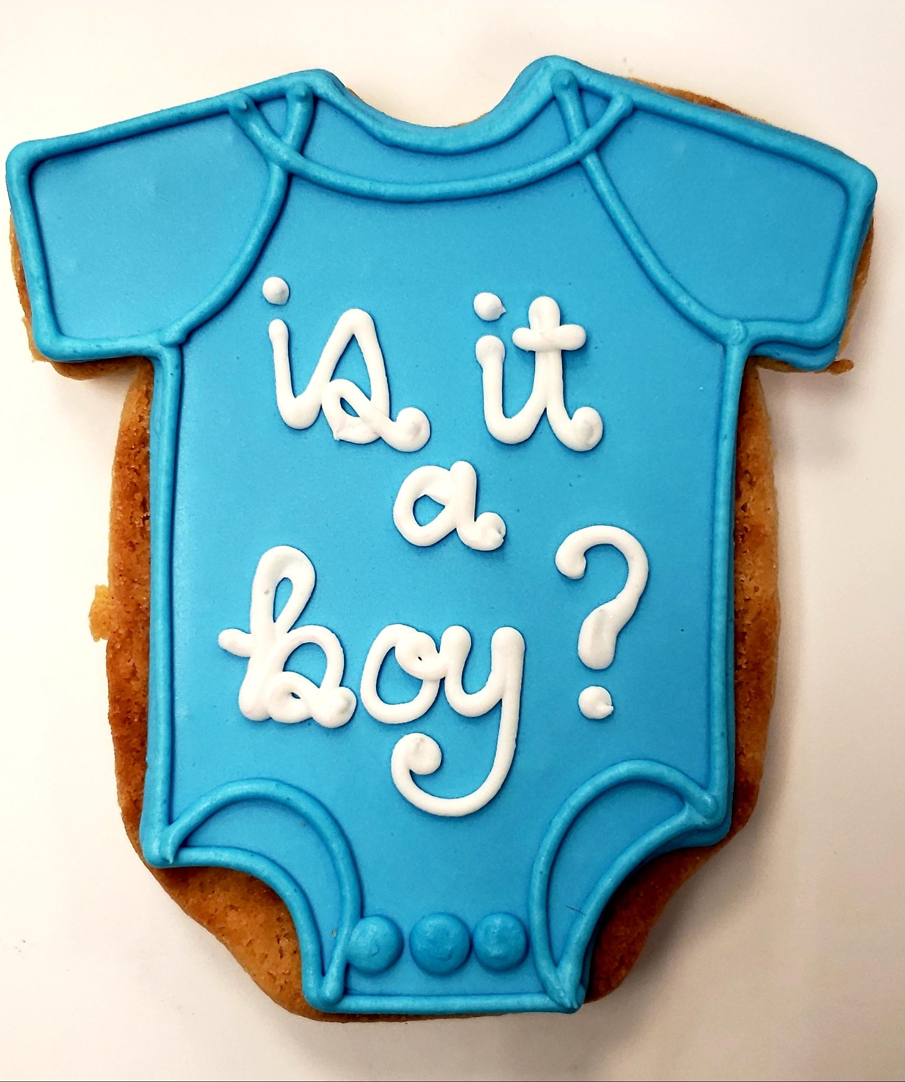 Is it a BOY? Cookie