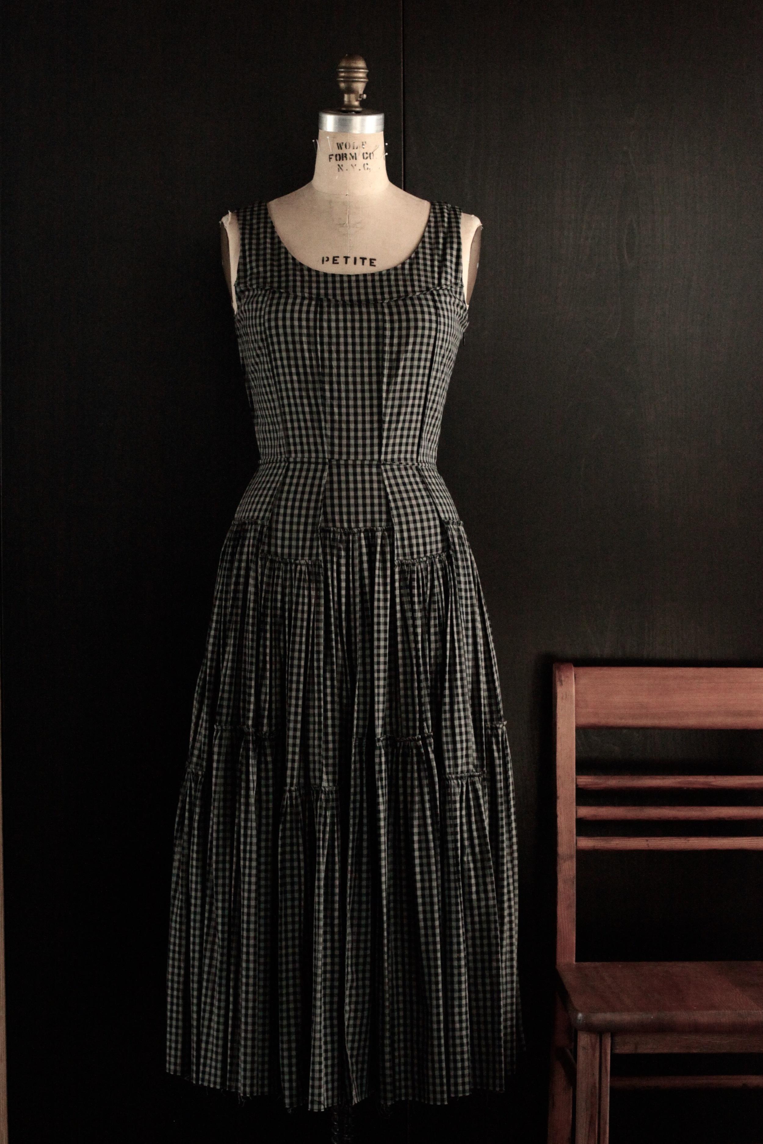 #2008 cobalt dress/cotton