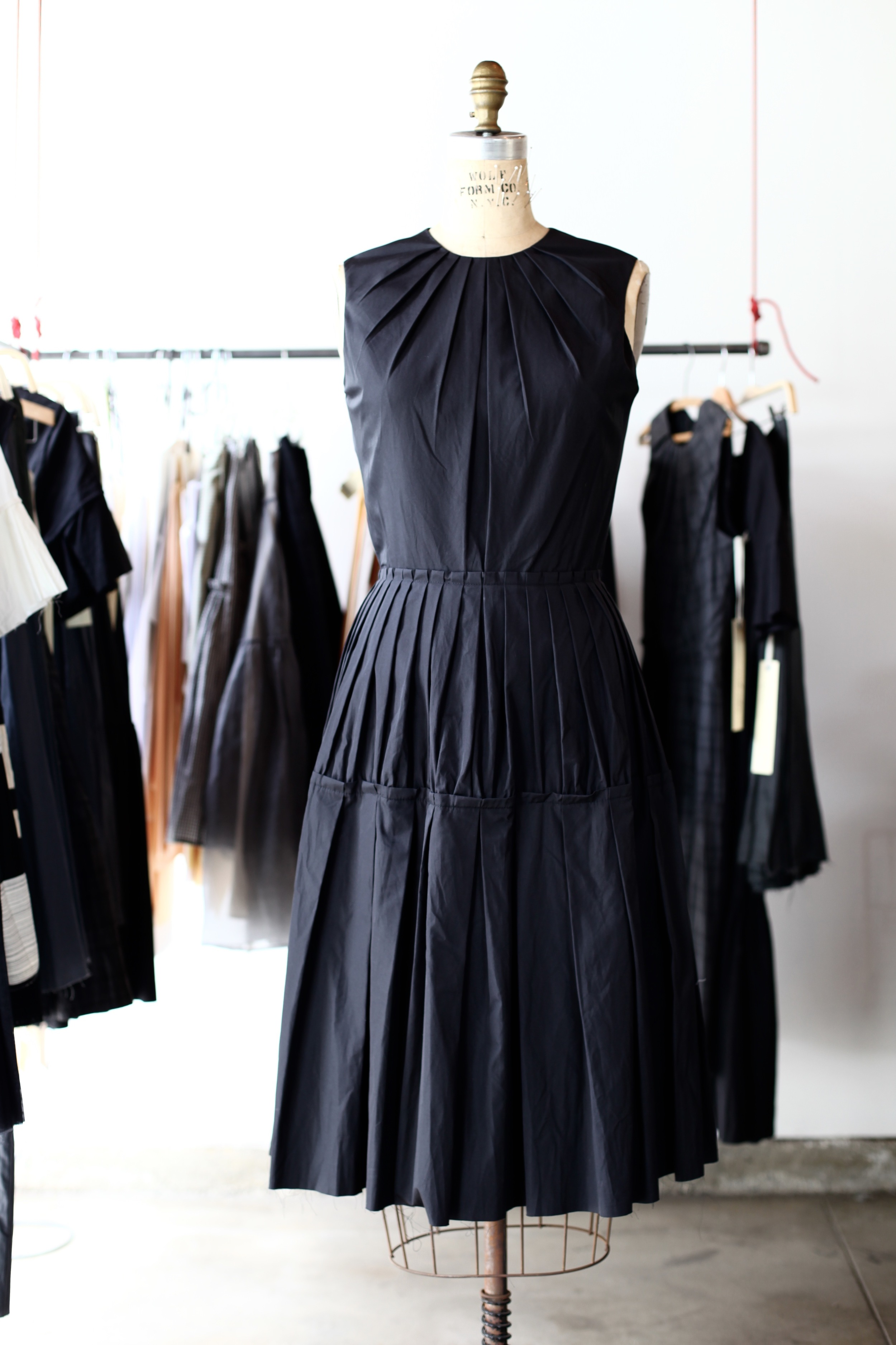 #2006 icicle dress/cotton