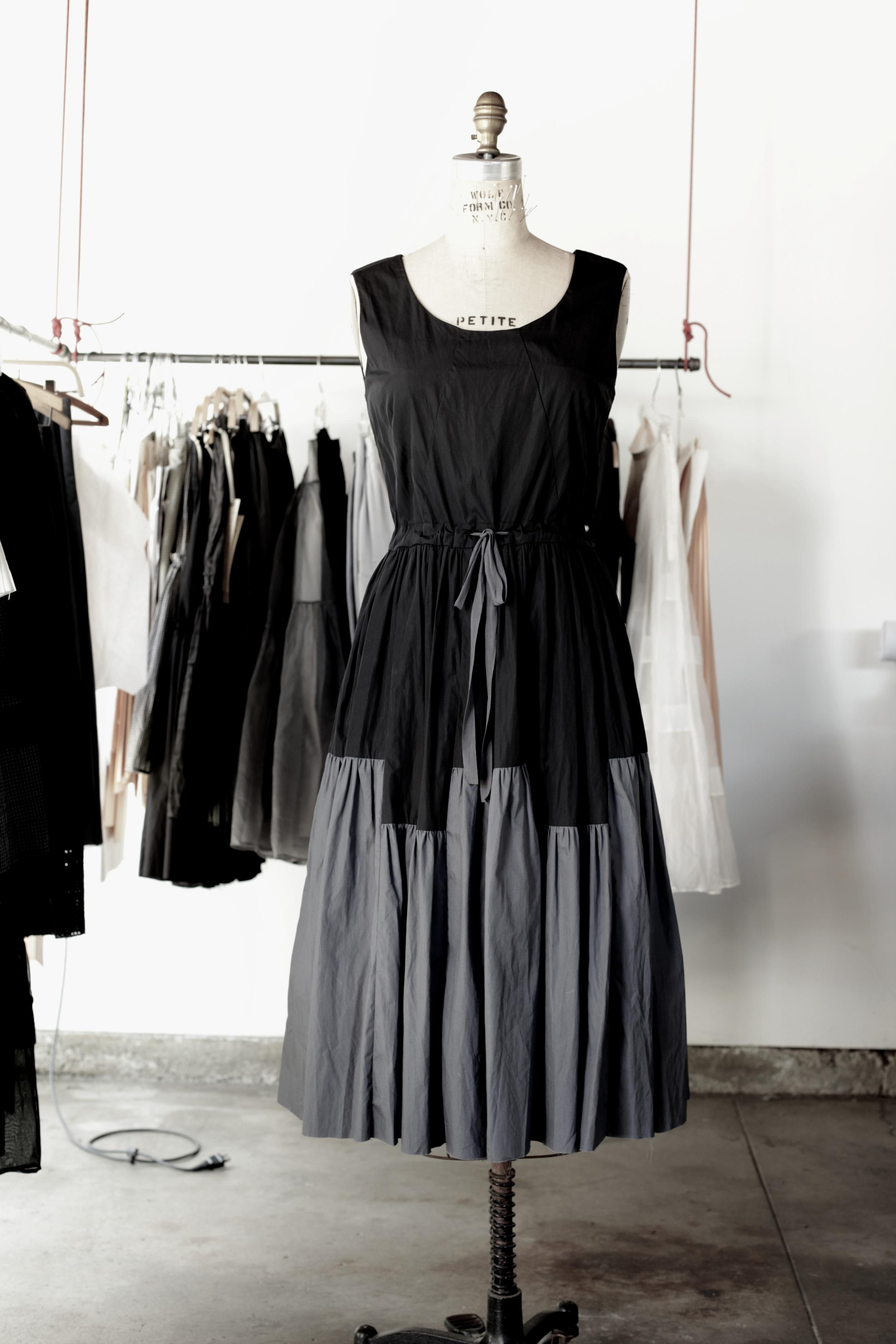 #2009 thunderstorm dress/cotton