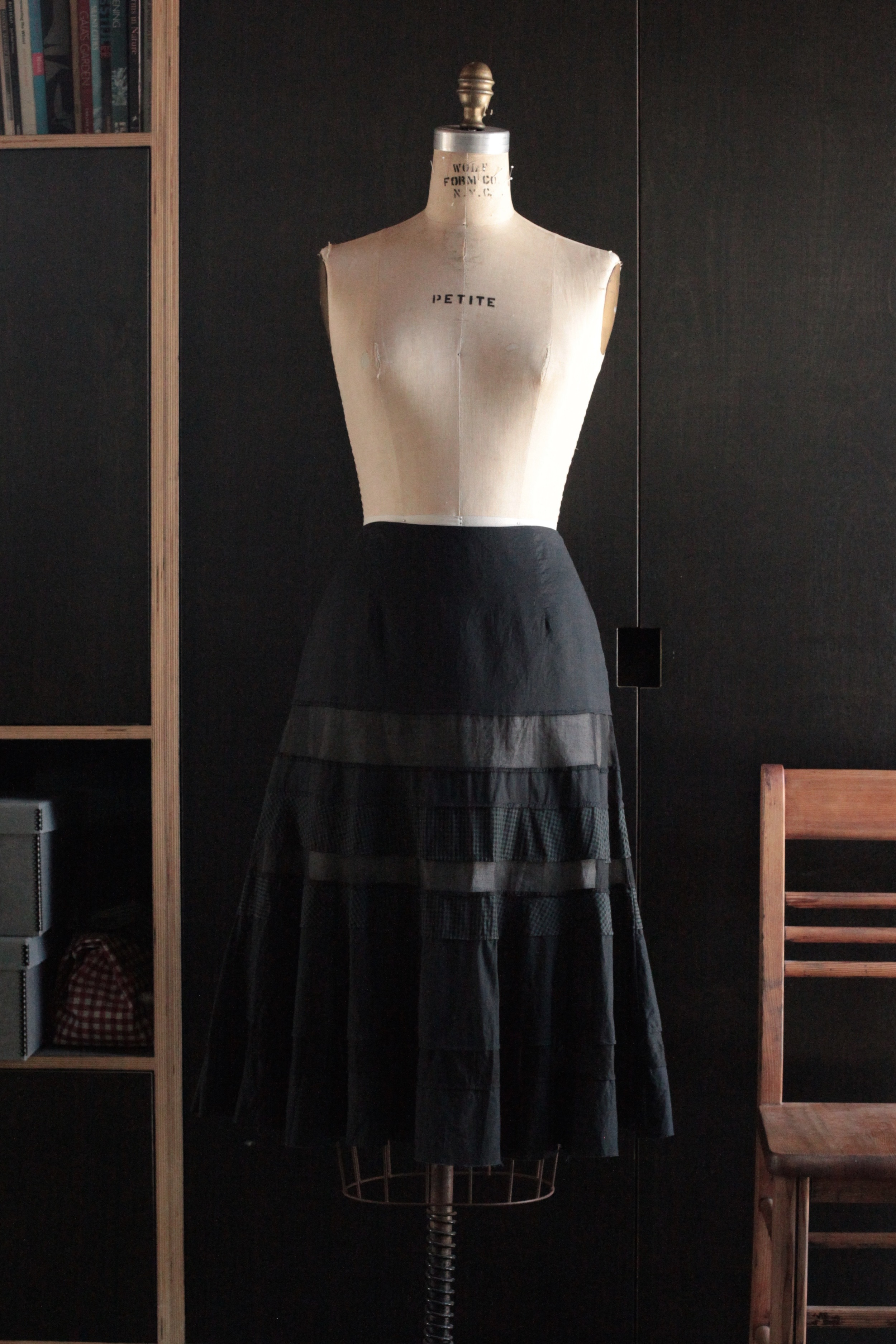 #1005 fountain skirt/cotton