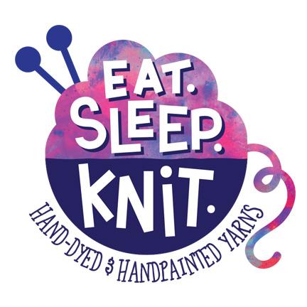 Eat.Sleep.Knit.   Branding