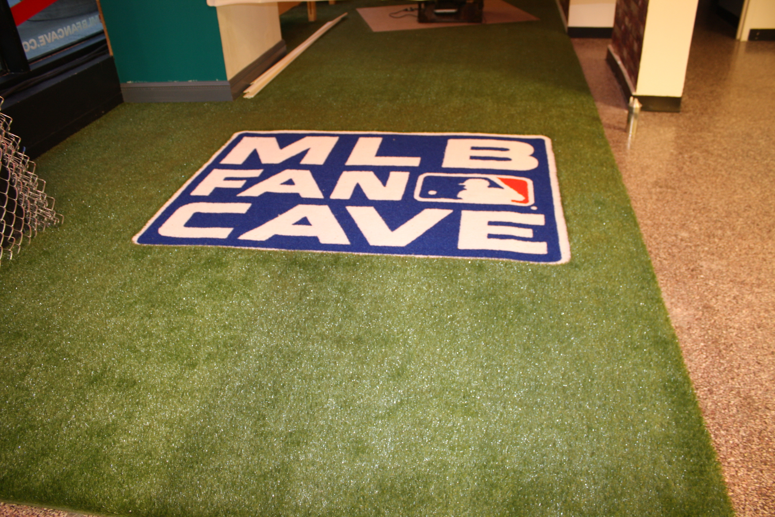 Major League Baseball Fan Cave
