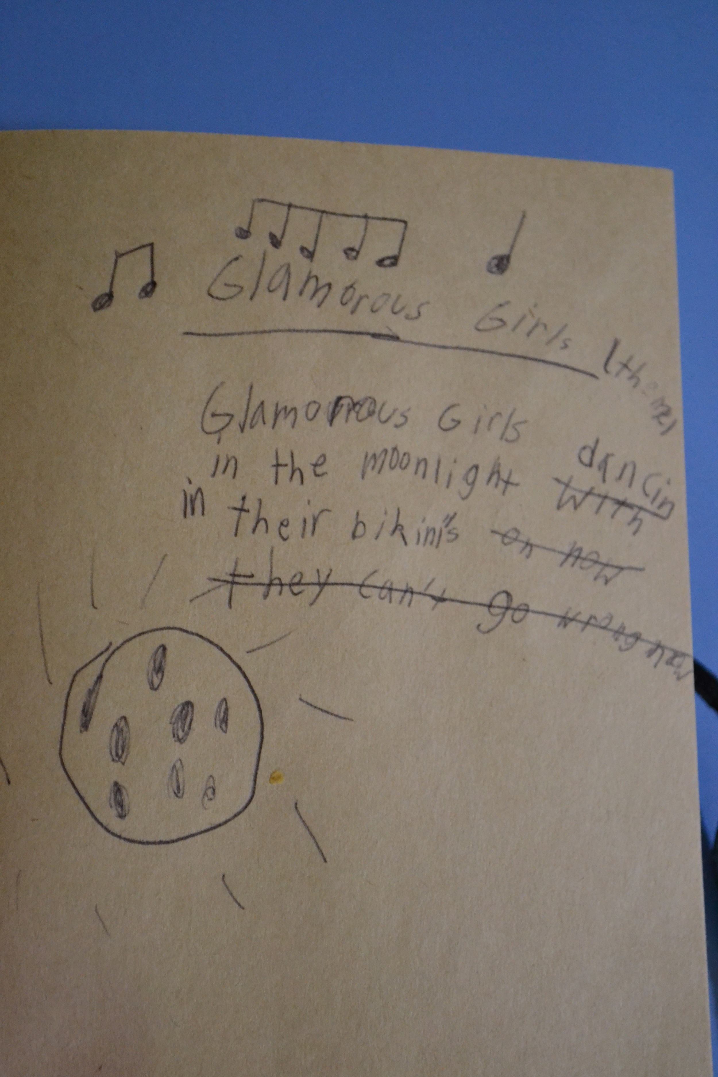 An early musical effort of mine.