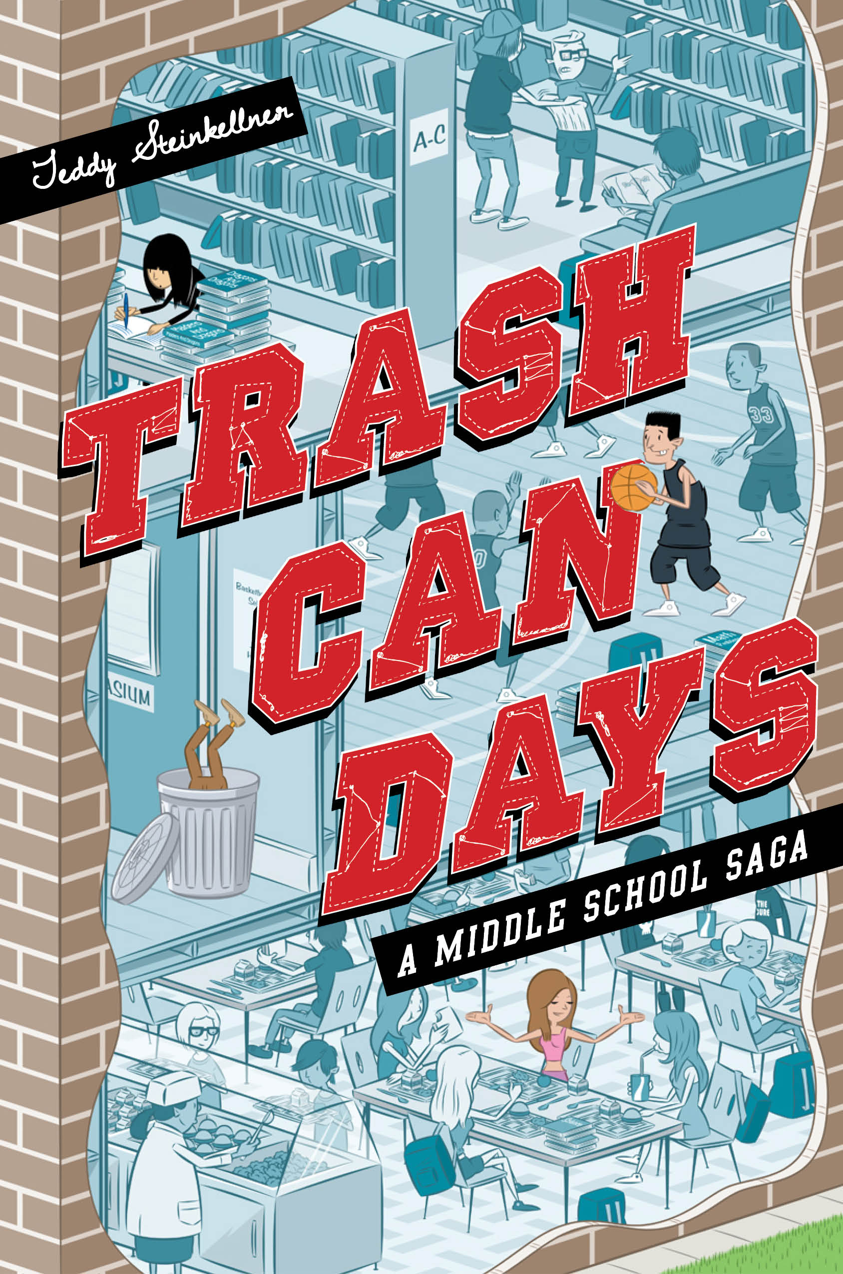 Front Cover - Trash Can Days