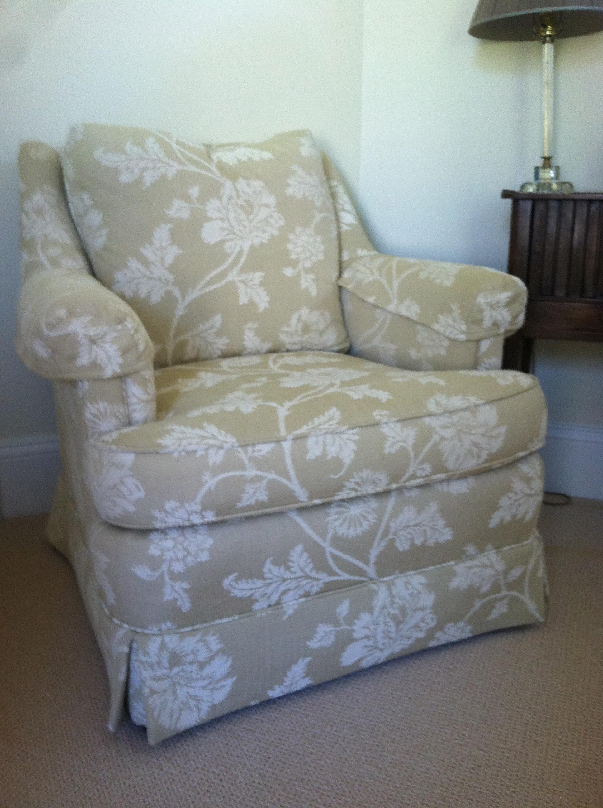 Before: Club chair