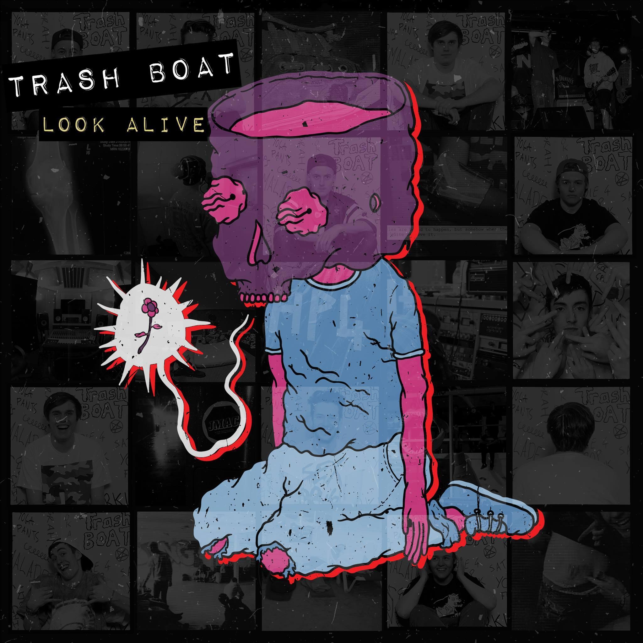 'Look Alive' EP artwork.