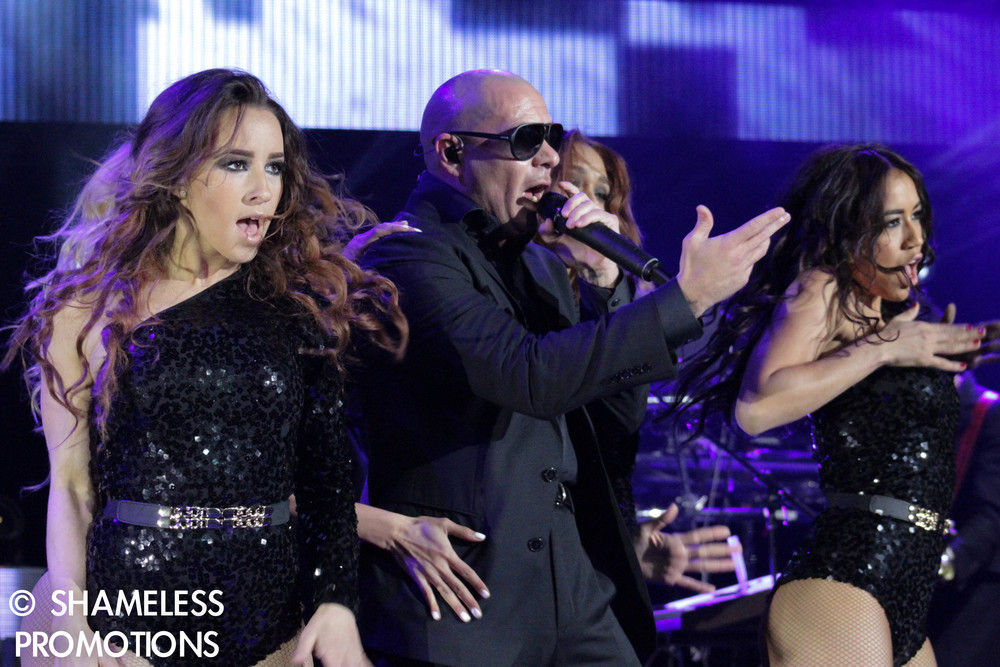 Pitbull & Ke$ha @ Shoreline Amphitheater: June 2013