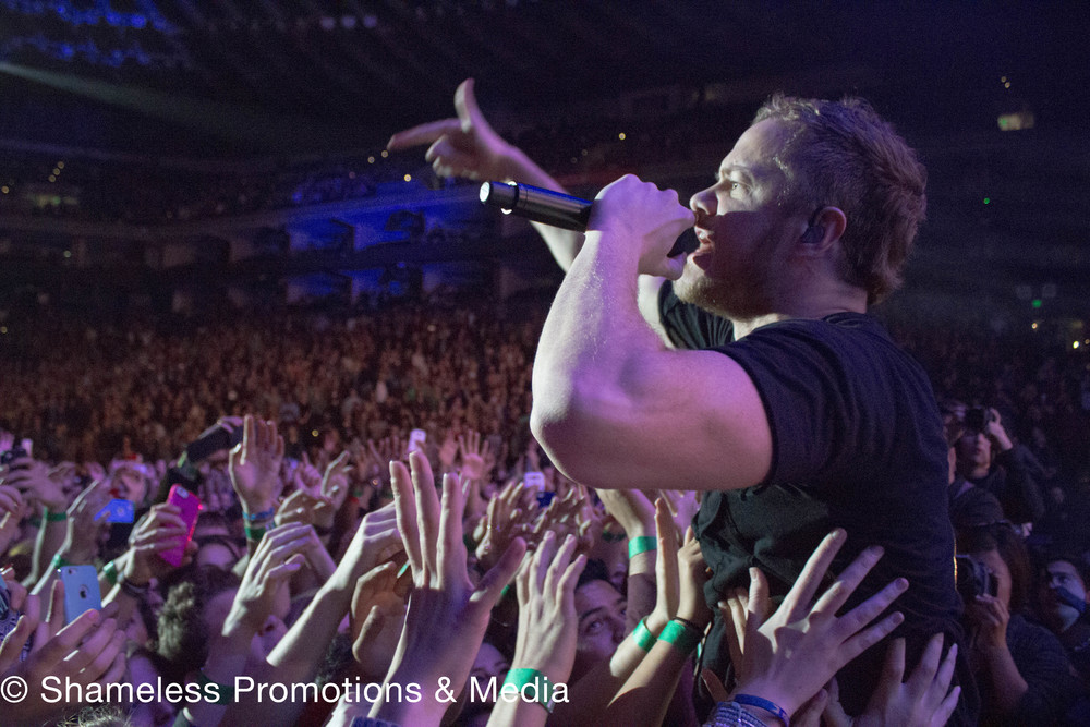 Live 105's Not So Silent Night w/ Imagine Dragons @ Oracle Arena: December 2014