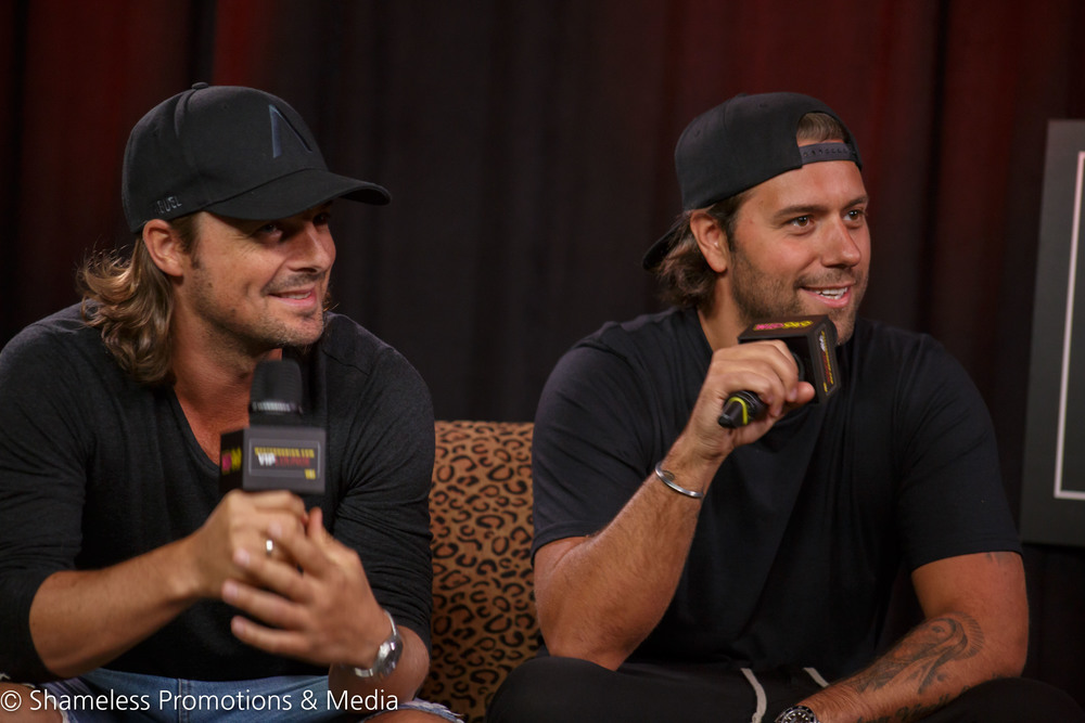 Axwell & Ingrosso Q&A and Meet-And-Greet @ iHeartMedia Studios: August 2015