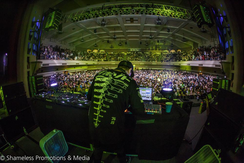 Safe In Sound Fest w/ Zomboy & Datsik @ City National Civic: October 2015