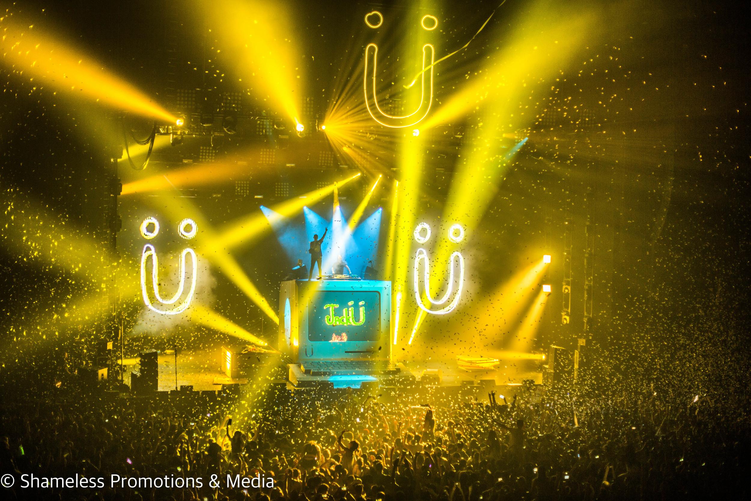 Jack Ü (Skrillex & Diplo) @ Bill Graham Civic Auditorium: April 2016