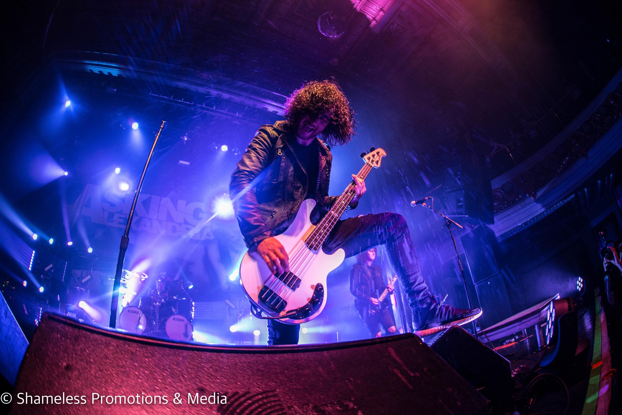 Asking Alexandria '10 Years in the Black' Tour @ The Regency Ballroom: December 2016