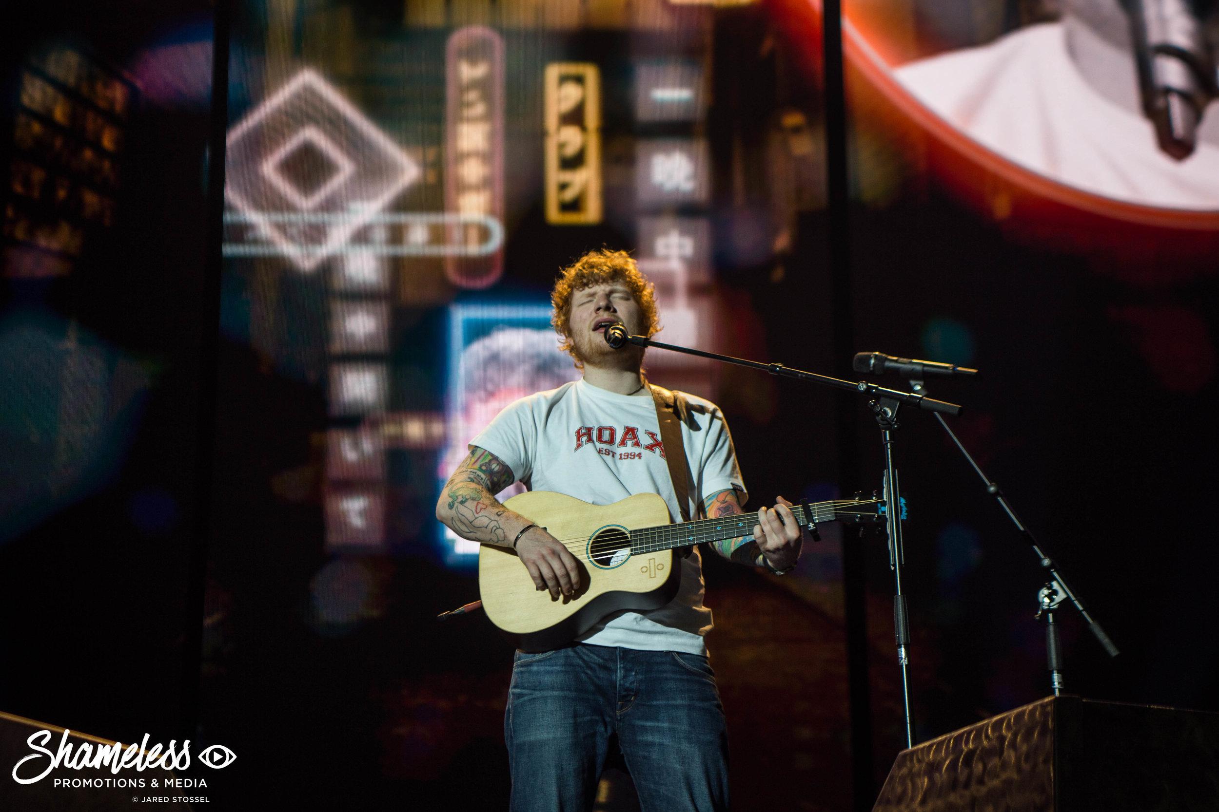 Ed Sheeran @ Oracle Arena: August 2017