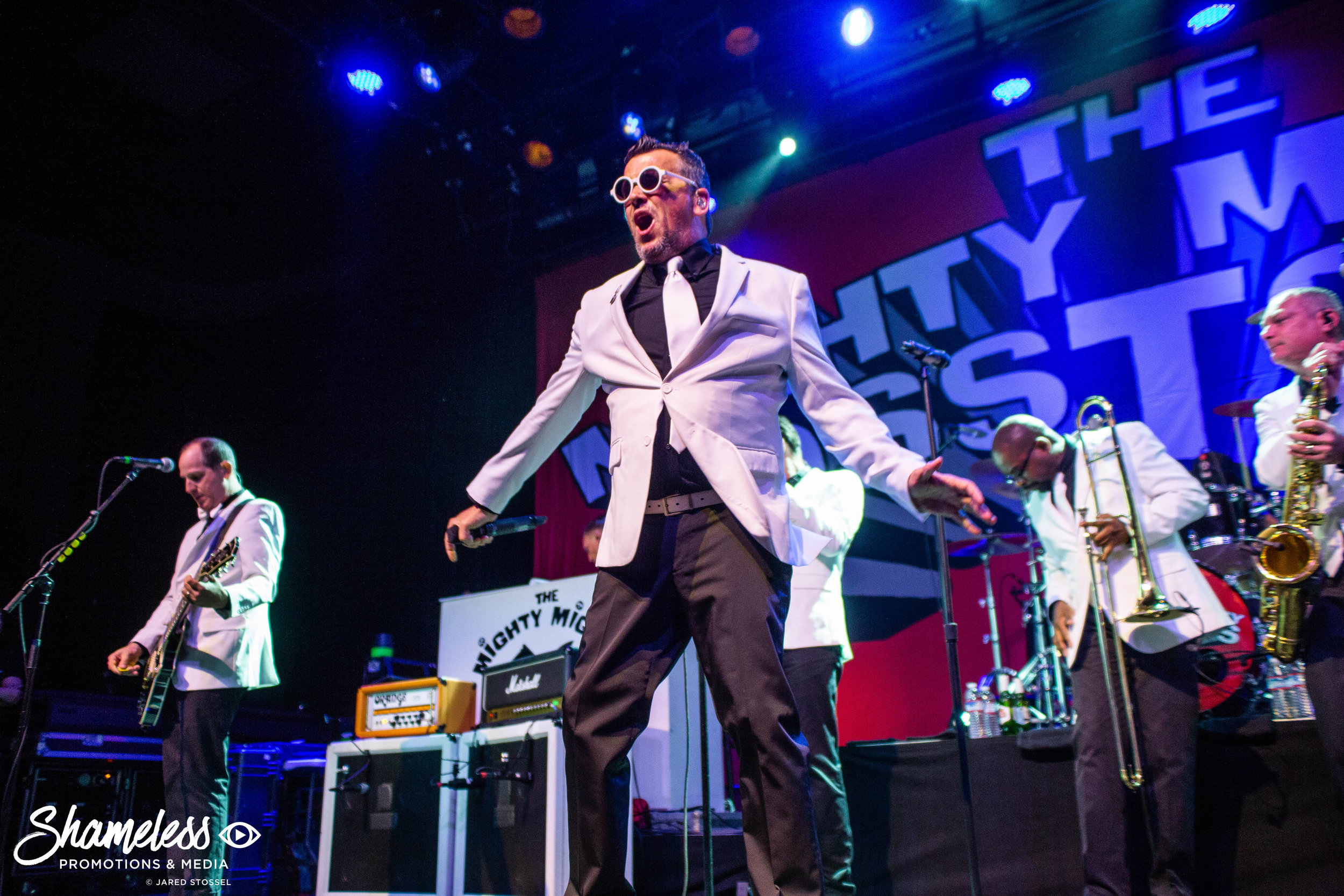 The Mighty Mighty Bosstones performing at The Fillmore in San Francisco, CA. June 27th, 2018. Photo Credit: Jared Stossel.
