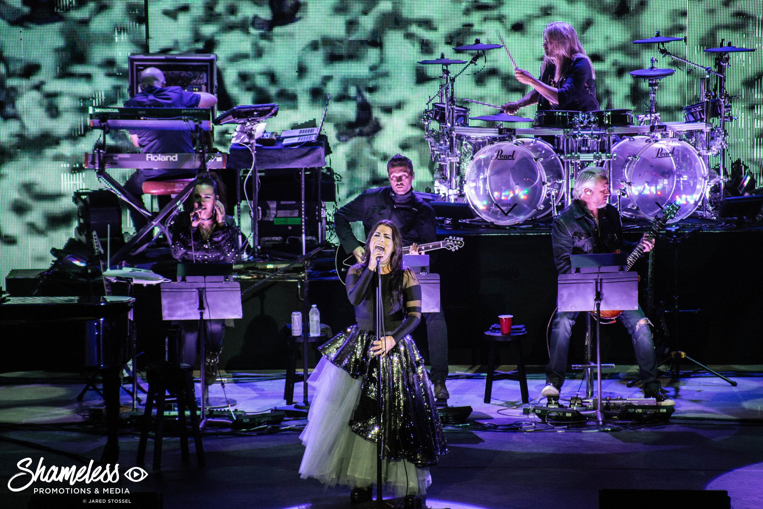 Evanescence & Lindsey Stirling @ Shoreline Amphitheatre: September 2018