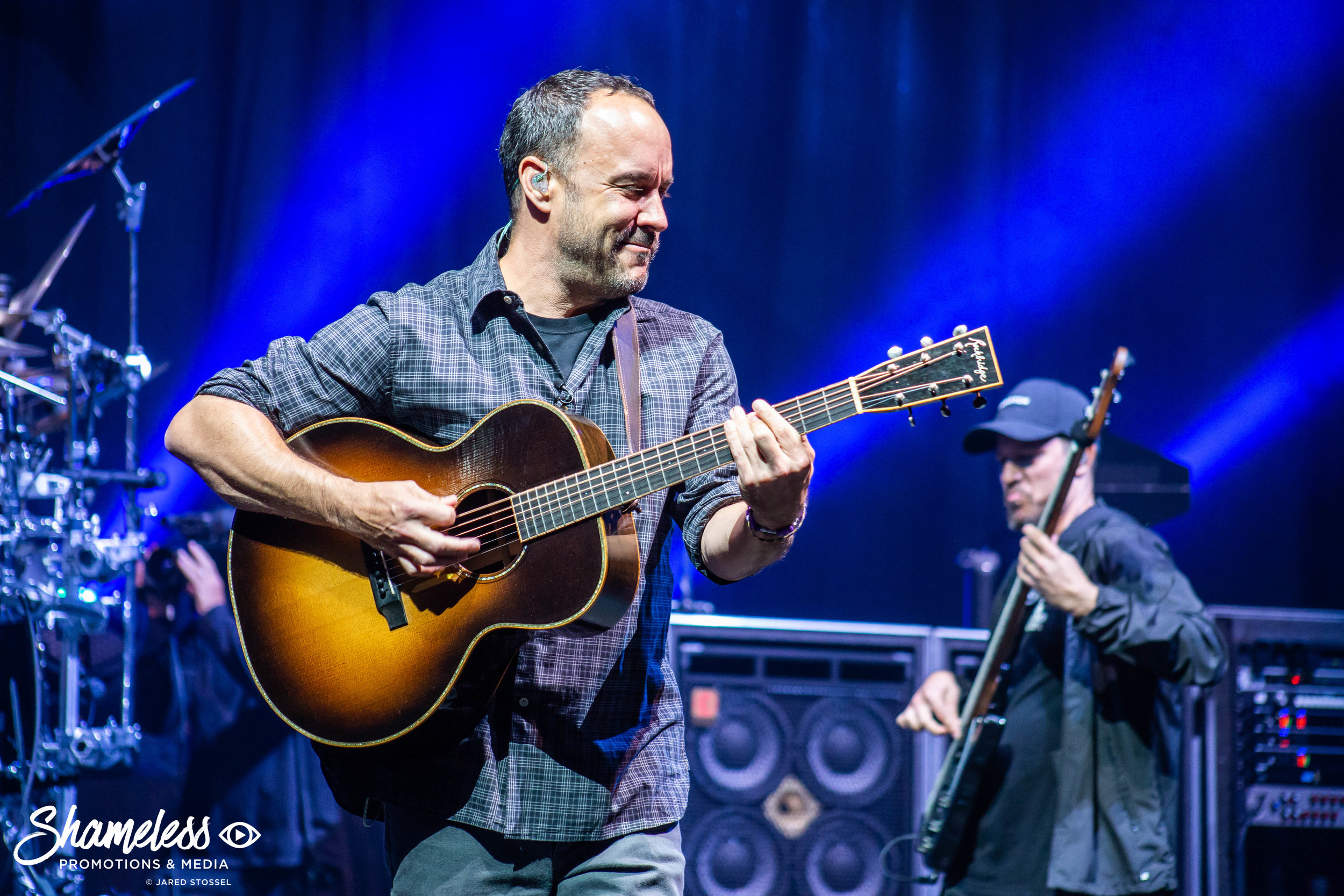 Dave Matthews Band performing at Shoreline Amphitheatre in Mountain View, CA. September 8, 2018. Photo Credit: Jared Stossel