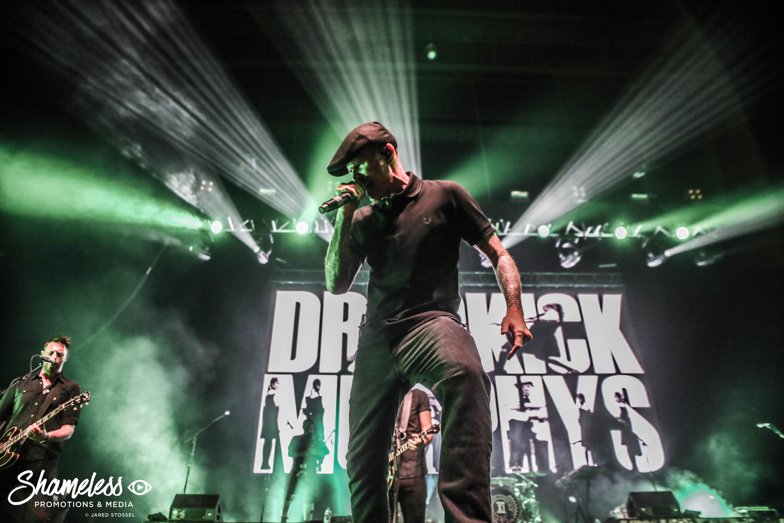 Dropkick Murphys performing at Bill Graham Civic Auditorium in San Francisco, CA. September 27, 2018. Photo Credit: Jared Stossel