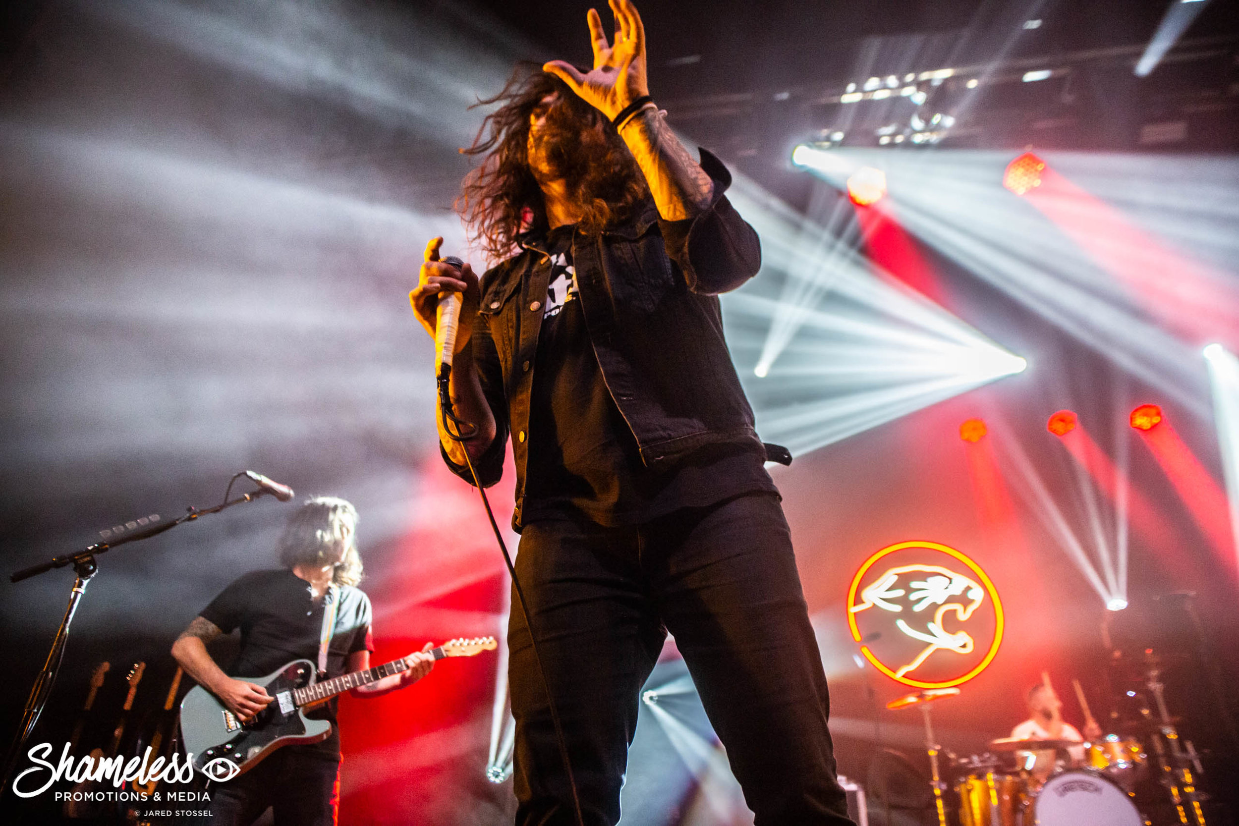 Taking Back Sunday performing at The Warfield in San Francisco, CA. April 14, 2019. Photo Credit: Jared Stossel