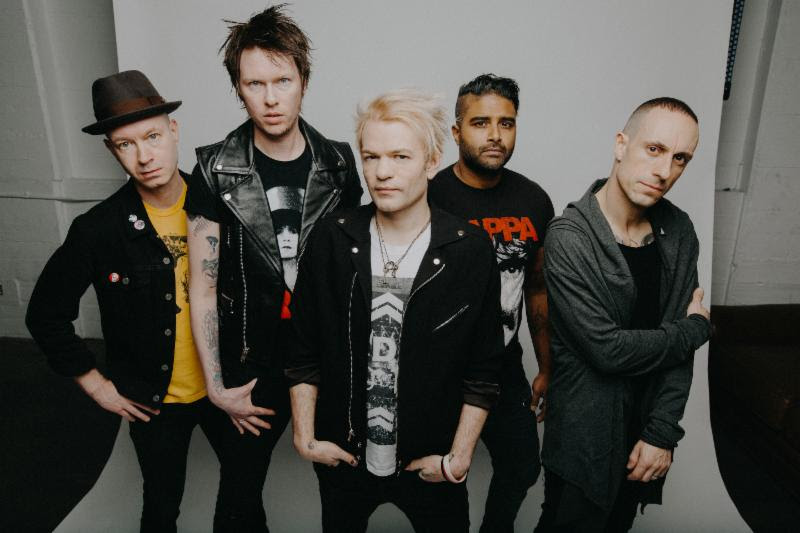 Sum 41. Photo Credit: Ashley Osborn