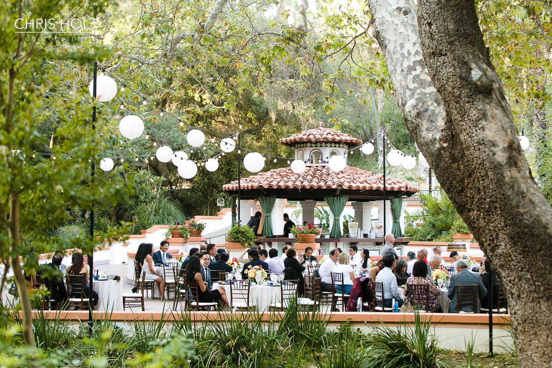 Rancho Las Lomas Wedding Photography - Reception in El Teatro