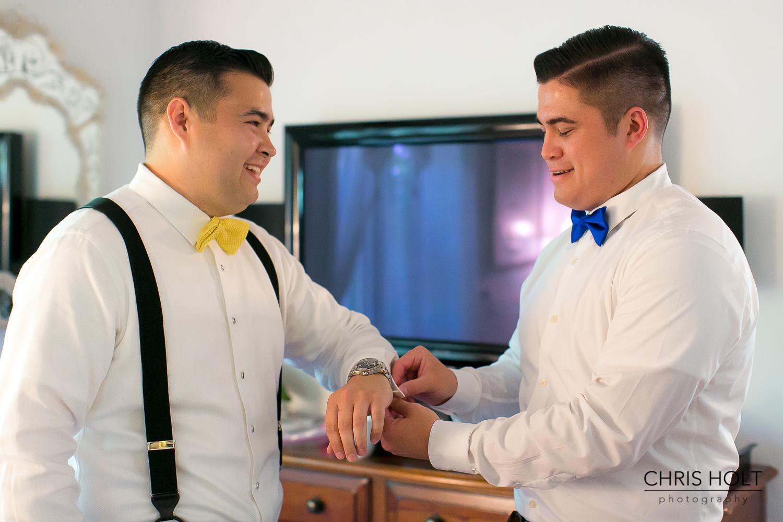 Pre Wedding Groom Prep