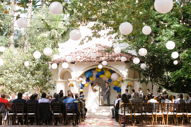 The Wedding Ceremony in El Teatro