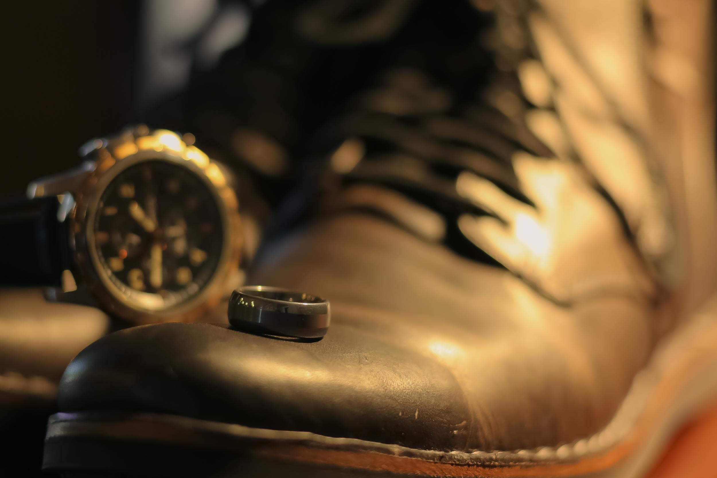 Tungsten Carbide Wedding Ring, John Varvatos