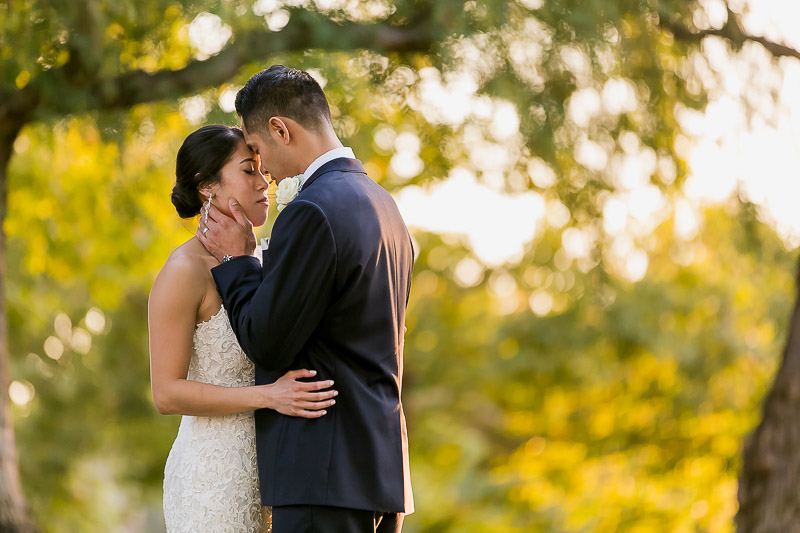 romantic wedding portraits at Summit House Restaurant in Fullerton, CA