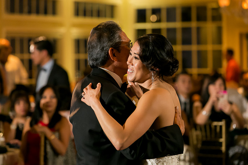Father-Daughter dance at Summit House Restaurant in Fullerton, CA