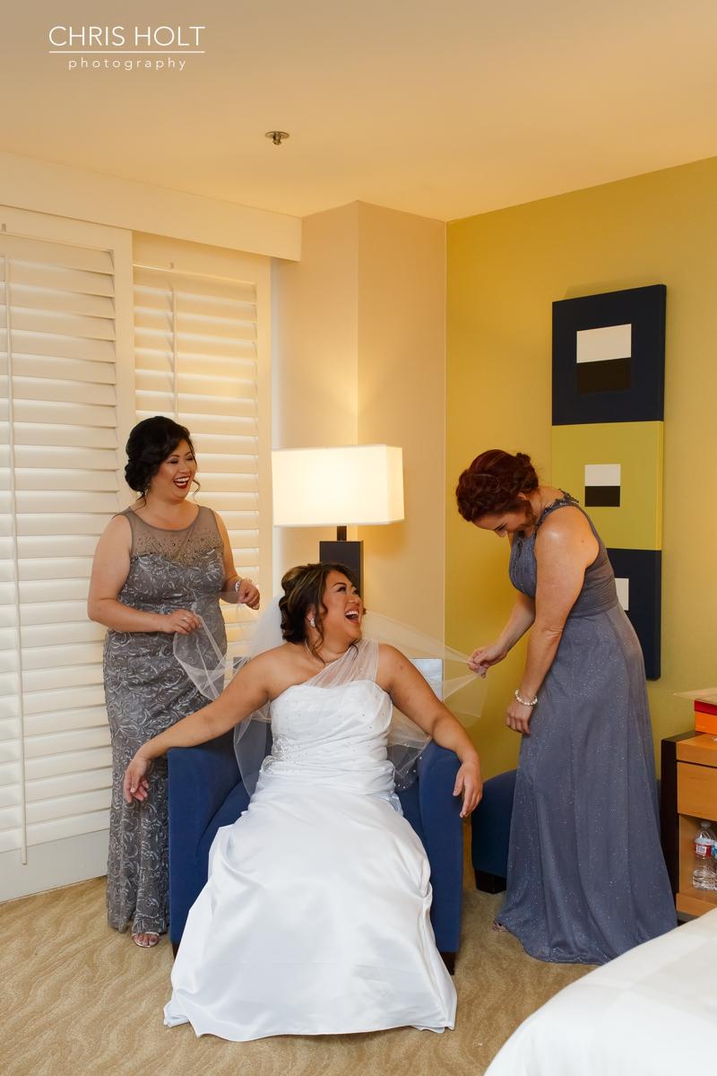 pacific palms, golf club, wedding venue, bridesmaids, squad, bridal party