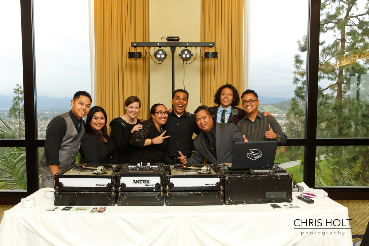 vendors, wedding planner, videography, dj, professional photography, pacific palms resort, wedding venue, resort, golf, celebration, events by edge, chris holt photography, michael papilla, dj wrex