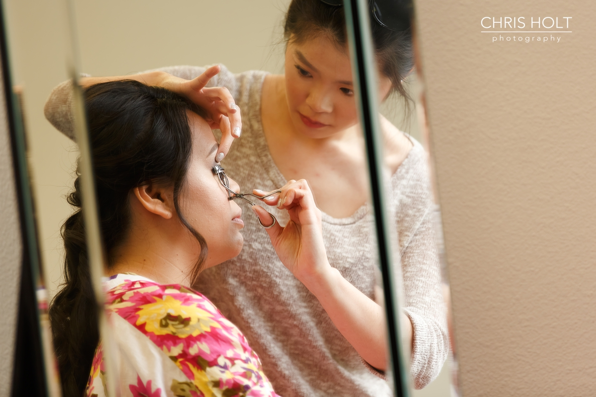 Bride, Makeup, Hair, getting ready, california country club, whittier, wedding venue, wedding wire, the knot