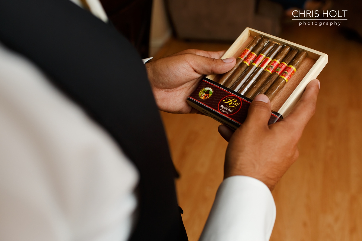 groom, father, watch, cigars, cuffs, Wedding, getting ready, california country club, whittier, wedding venue, portraits, candid