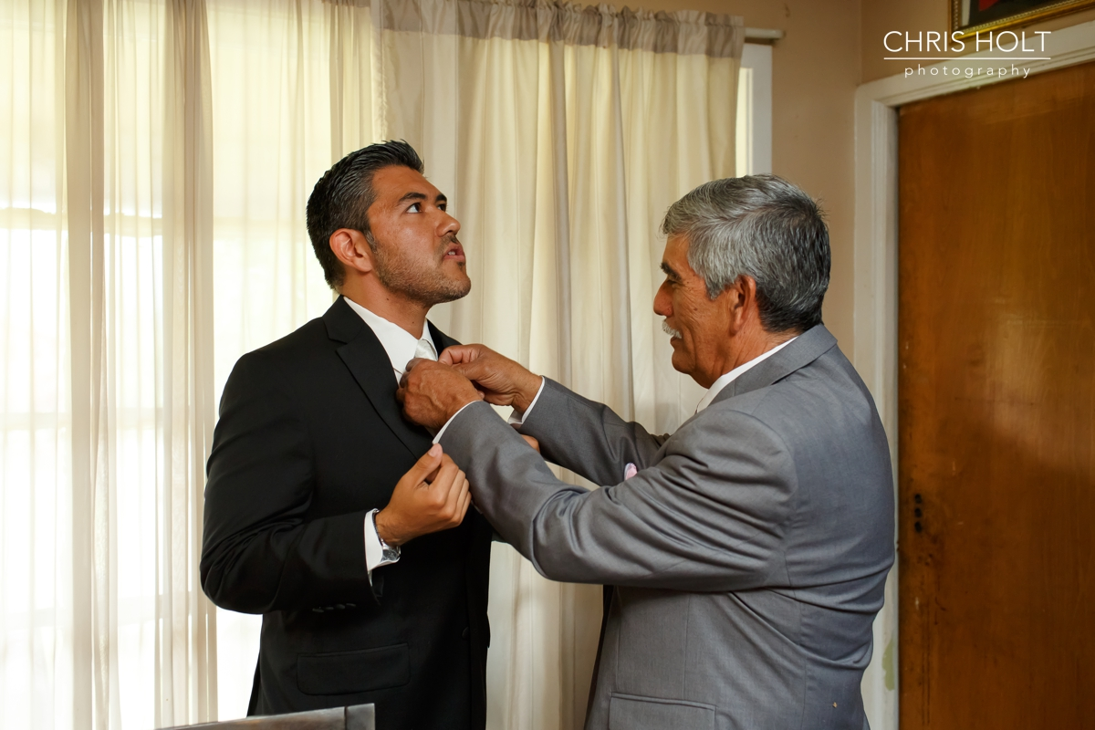 groom, father, watch, cuffs, Wedding, getting ready, california country club, whittier, wedding venue, portraits, candid
