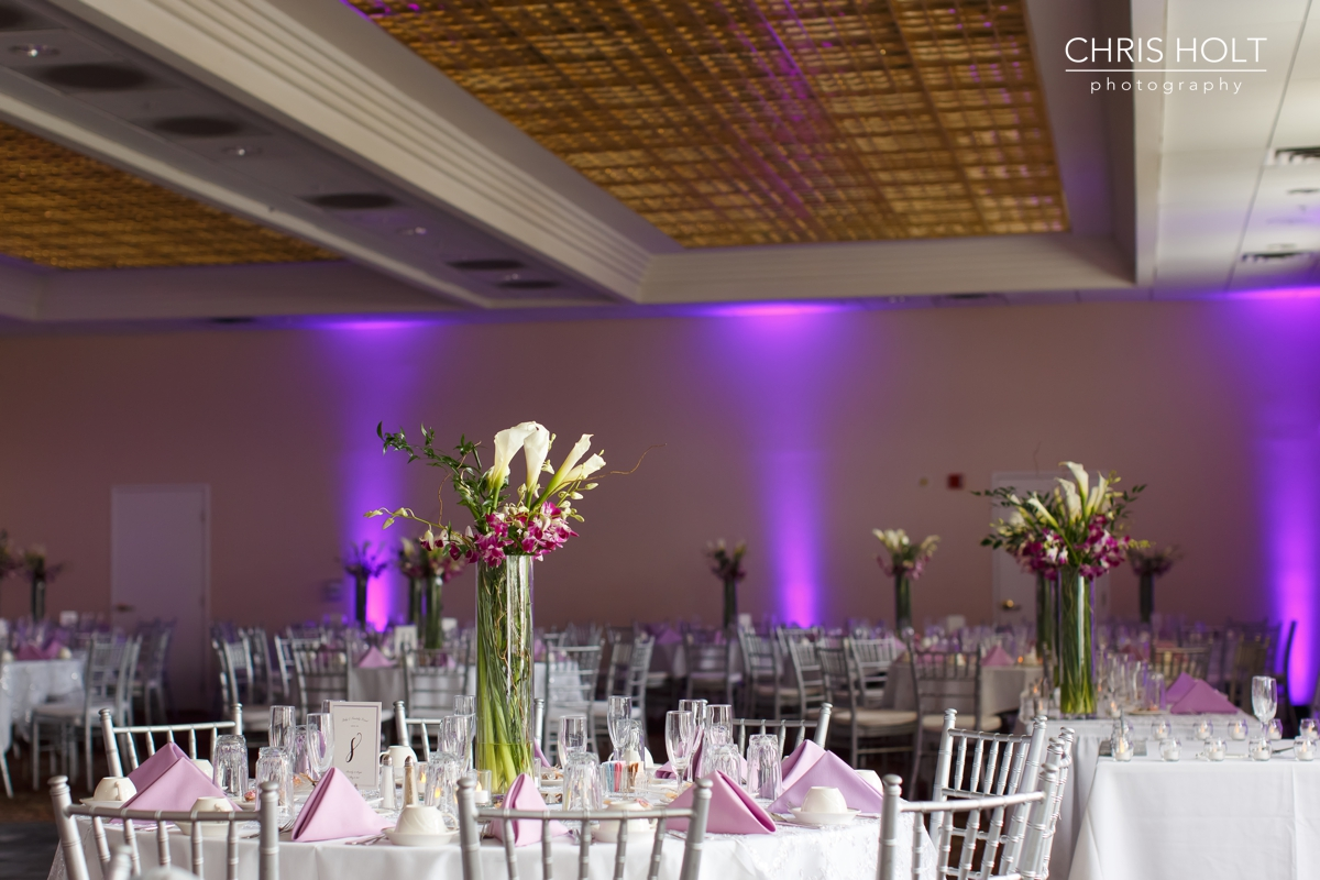 wedding, california country club, whittier, wedding venue, reception, local, floral, centerpieces, cake, bakery, place cards, uplighting, wedding wire, the knot